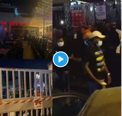 Sanwo-Olu Shuts Down Cubana Club
