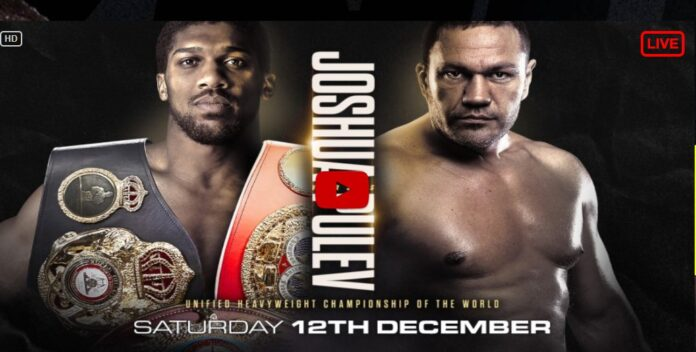 Live Stream Anthony Joshua Vs Kubrat Pulev Fight