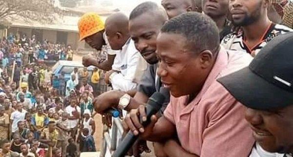 Sunday Igboho Storms Osogbo Yoruba Nation Protest