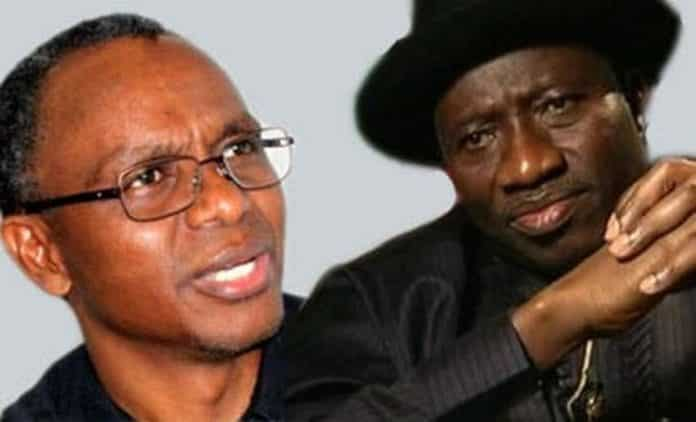 APC To Pair Jonathan With El-Rufai For 2023 Presidential Ticket