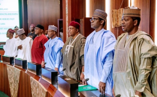 36 Governors Of the Federation