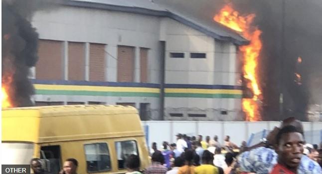 Hoodlums Set Imo Police Station On Fire