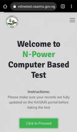 N-Power portal new