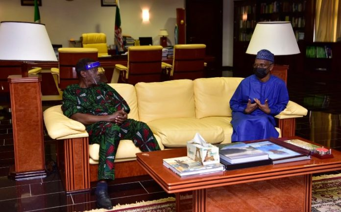 Pastor Adeboye And Governor El-Rufai Meeting In Kaduna