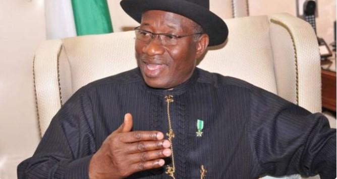 Former President Jonathan