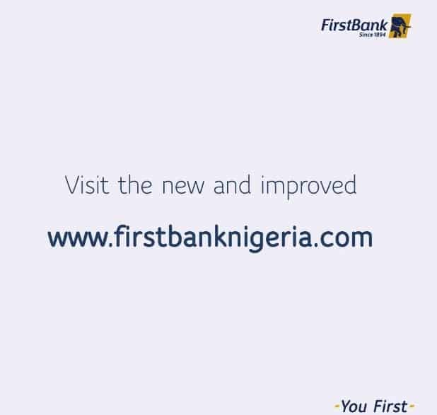 Firstbank New Corporate Website, Firstbank New website, Firstbank Launches New Corporate Website, https://www.firstbanknigeria.com, www.firstbanknigeria.com,firstbanknigeria.com,firstbanknigeria,Folake Ani-Mumuney, Group Head, Marketing and Corporate Communications