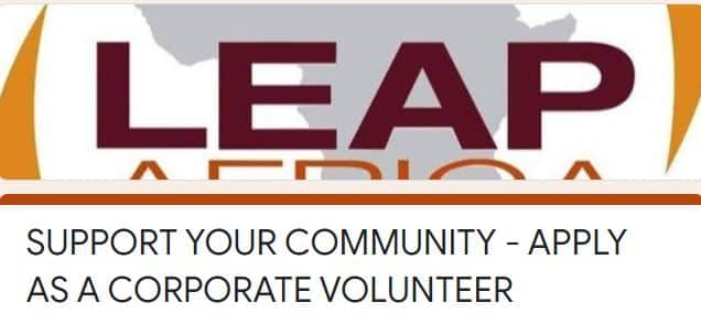 Leap Africa Volunteer for Young Nigerians
