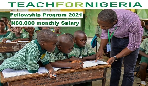 Teach for Nigeria Recruitment 2021