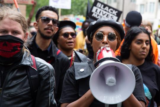 Black Live Matters Activist Sasha Johnson