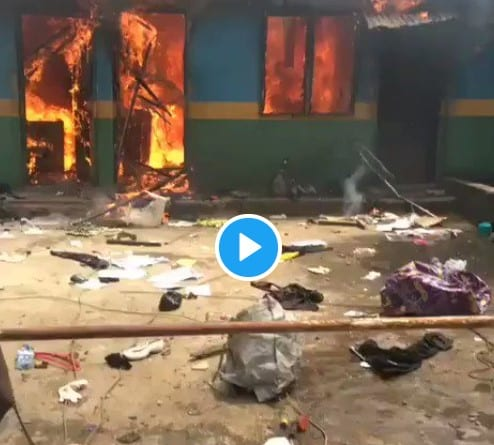 Gunmen Burn Another Police Station
