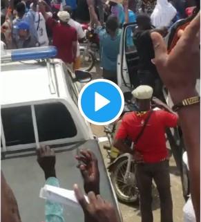 Sunday Igboho Stormed Osogbo Yoruba Nation Protest