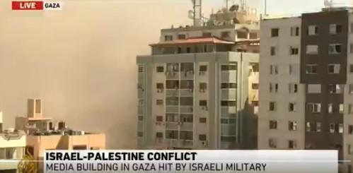 Israeli Bombs Down Al Jazeera Office