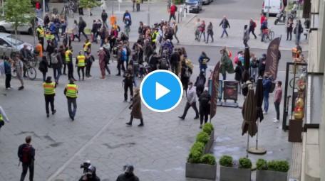 Anti-Lockdown Protest Rocks Berlin