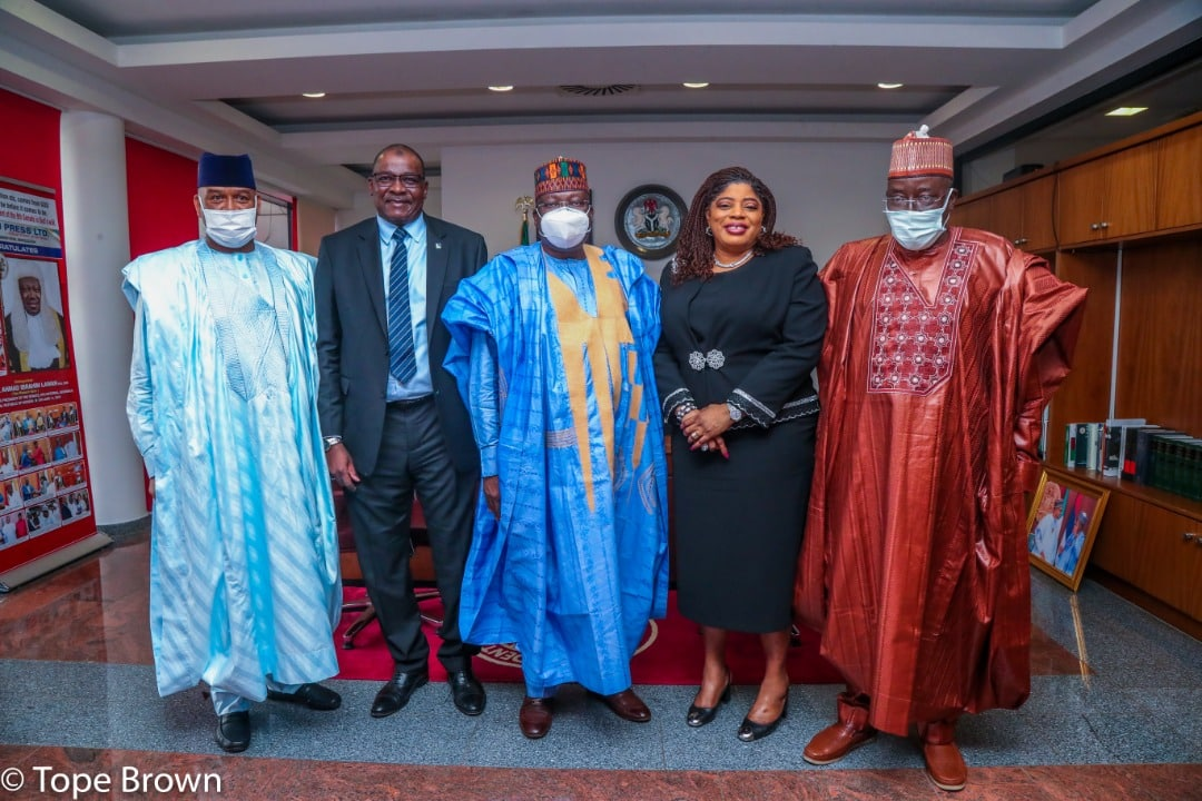 Fidelity Bank's Courtesy Visit To The Office Of The Senate President (Photos)
