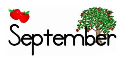 Happy New Month September 2021 Messages