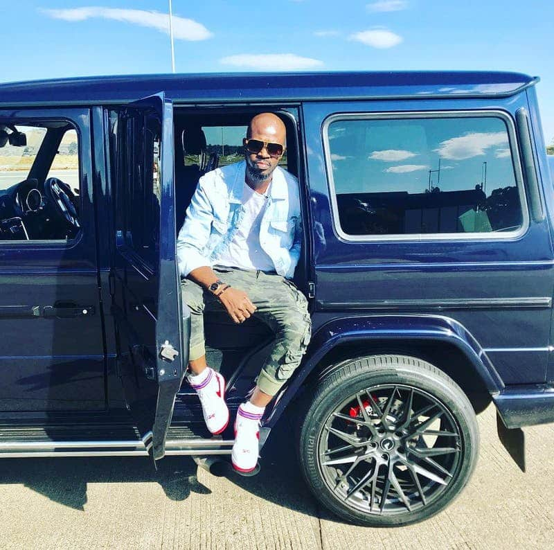 Black Coffee has one of the best car collections African musicians