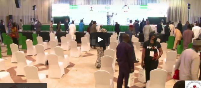 Moment EFCC Chairman Bawa Slumped In Abuja