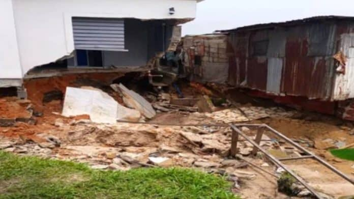 Residential Building Collapses In Rivers