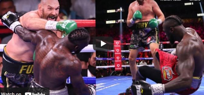 Tyson Fury vs Wilder 3 Complete Fight Video