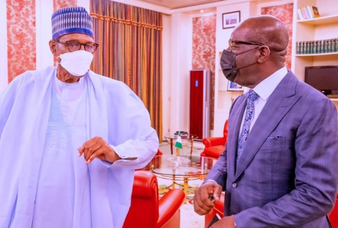 Details Of President Buhari Meeting With Governor Obaseki